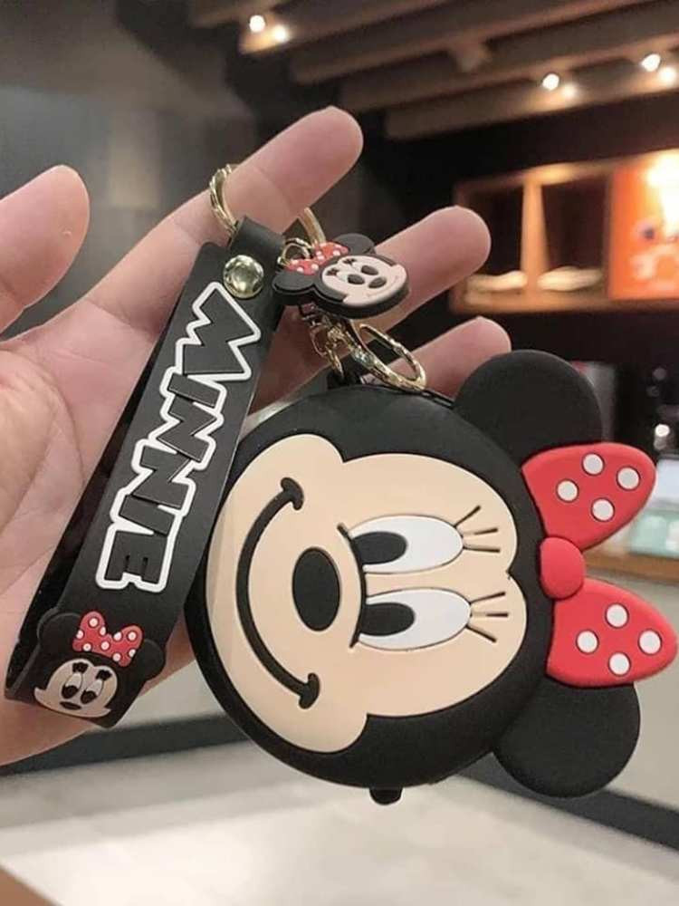 MINNIE KEY HOLDER WITH COIN...