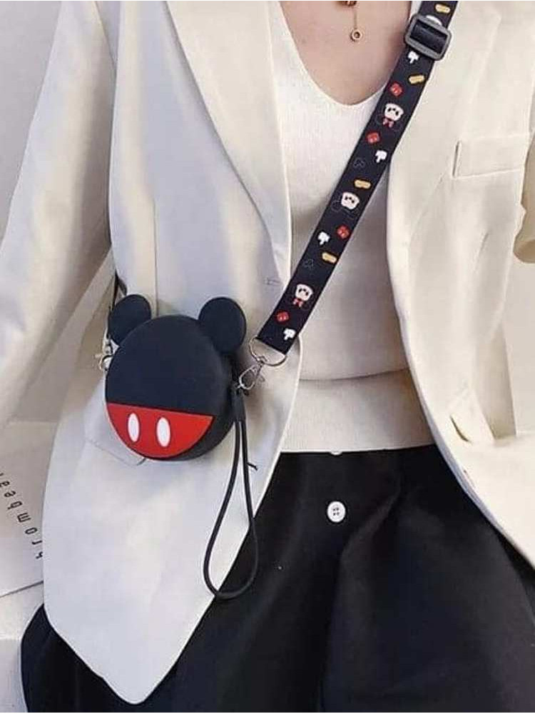 MICKEY SILICON MINI BAG