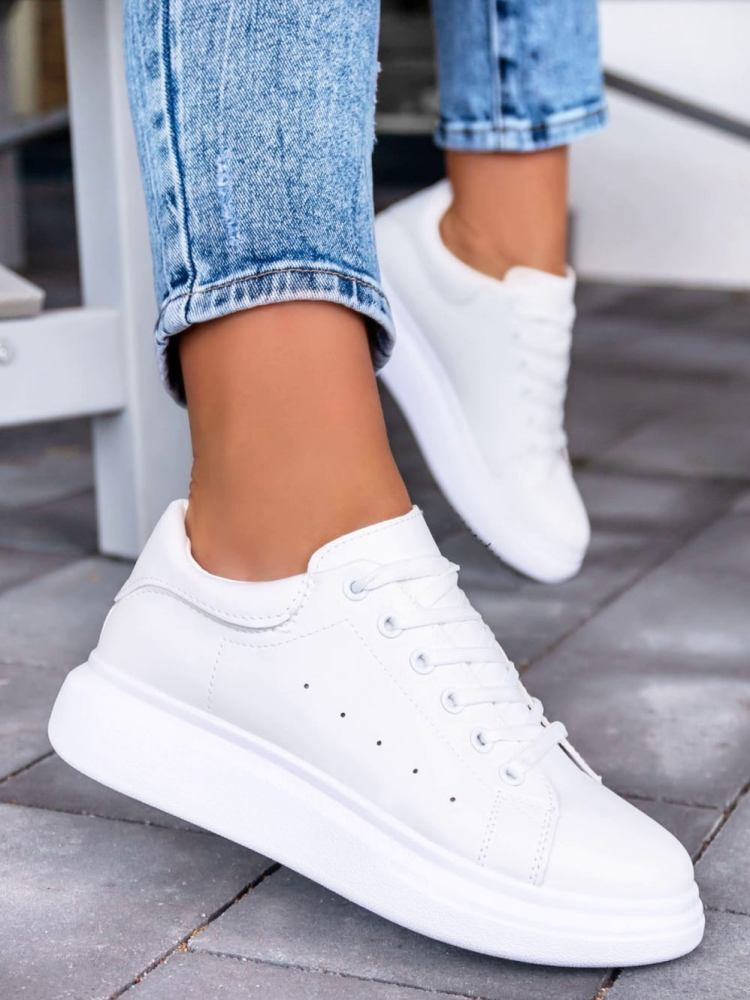 CAMELIA TOTAL WHITE SNEAKERS