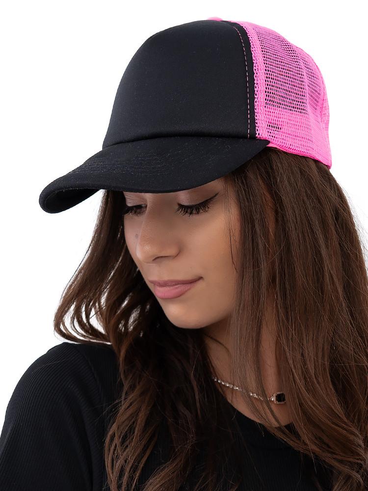 TRUCKER HAT BLACK & PINK