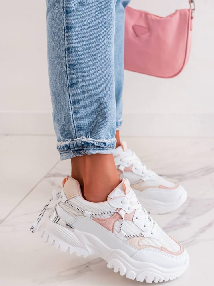 FAME WHITE PINK SNEAKERS