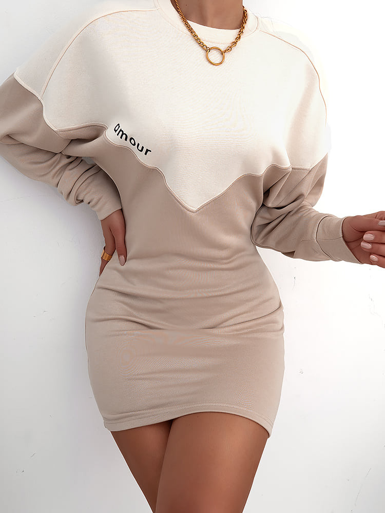 AMOUR BEIGE DRESS