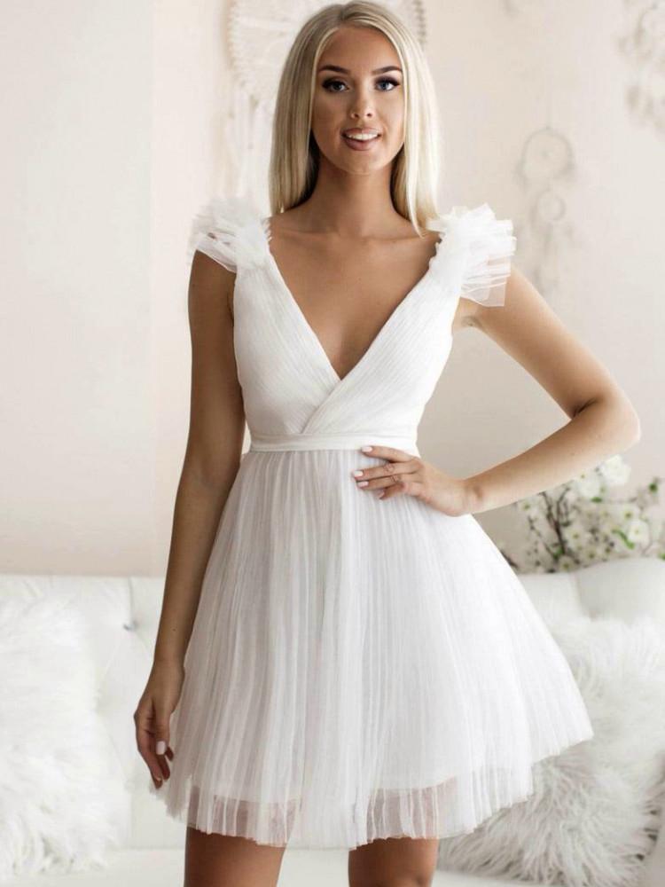 NELLY WHITE DRESS