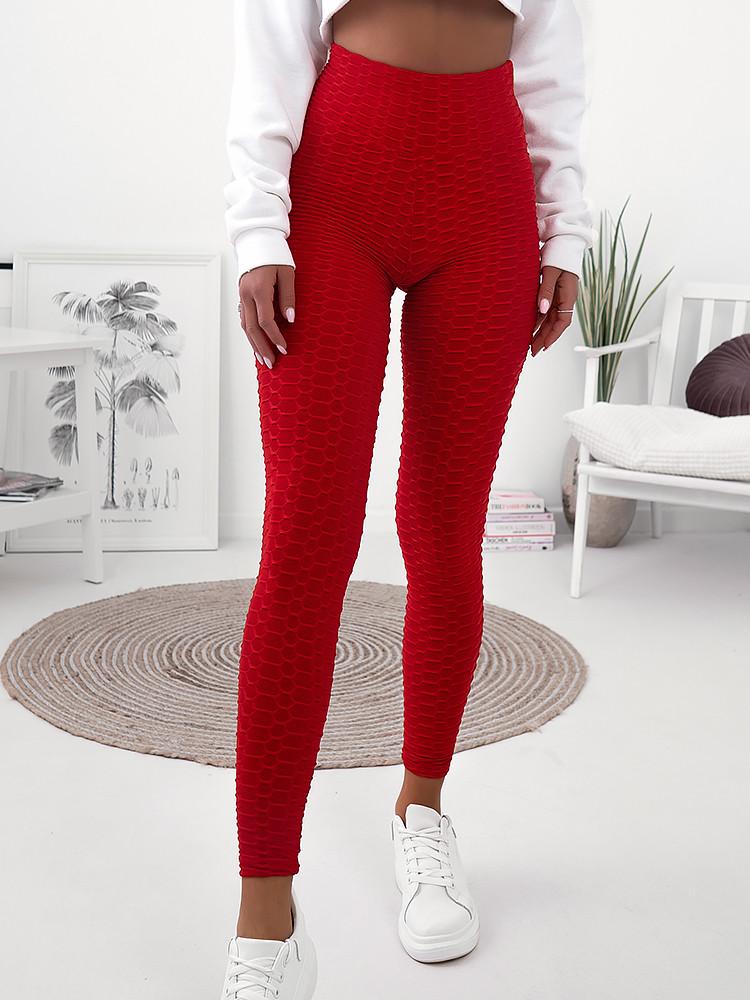 TIKTOK RED LEGGINGS