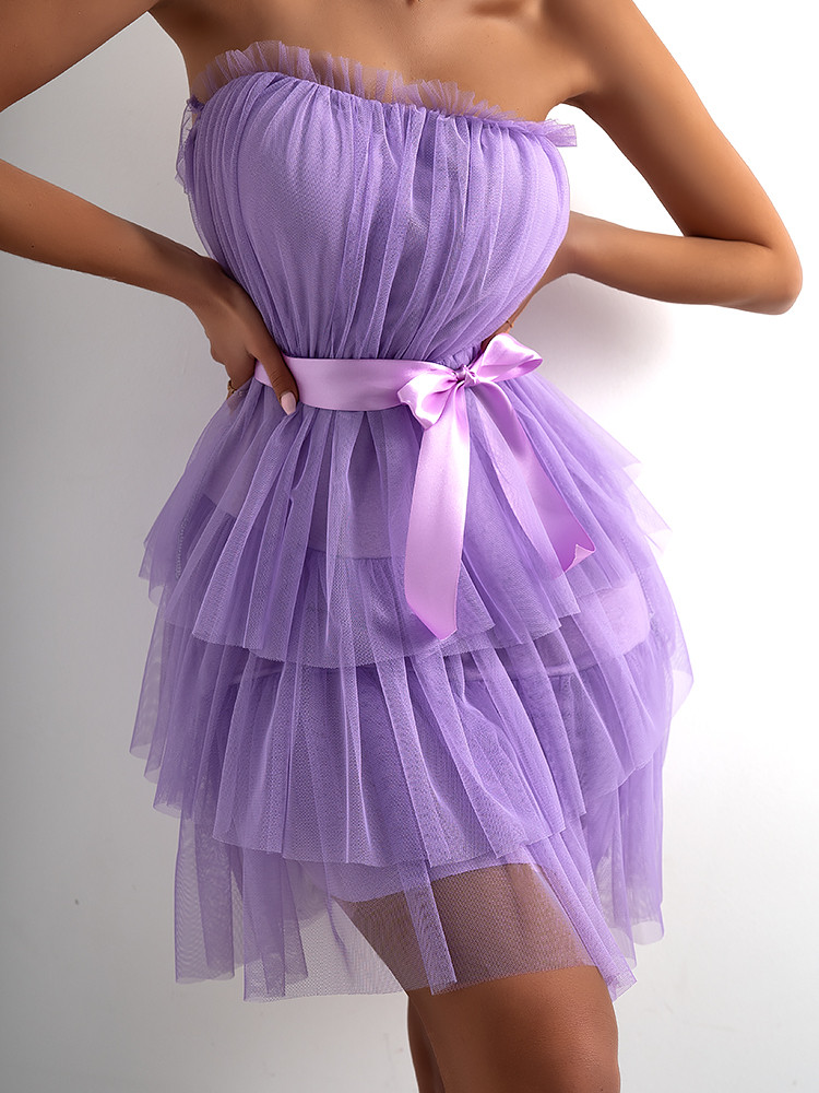 LINDA LILA TULLE DRESS
