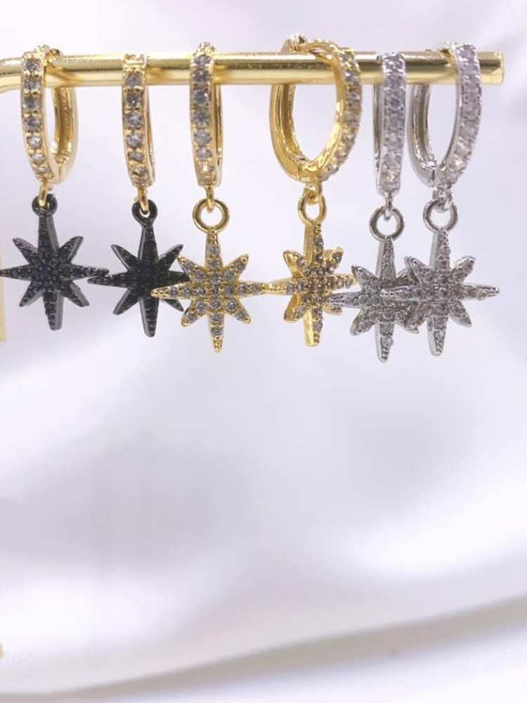 STAR STRASS EARRINGS
