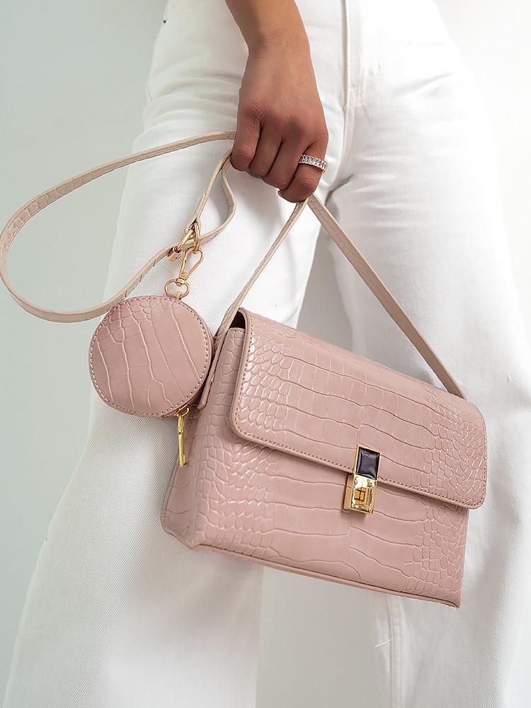 NOSA PINK SHOULDER BAG