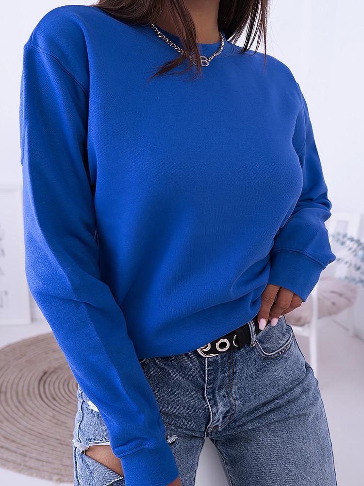 BASIC BLUE ROYAL SWEATSHIRT
