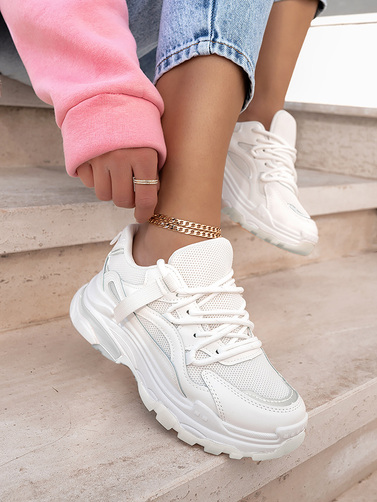 ANYA TOTAL WHITE SNEAKERS