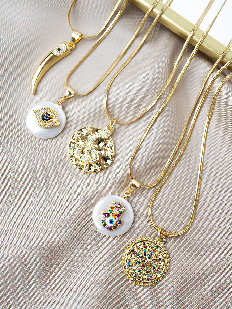 FAITH NECKLACES ( 5 DESIGNS )