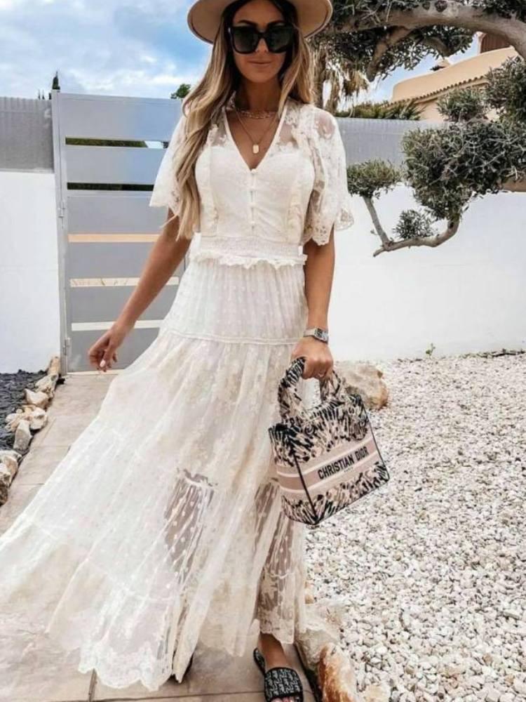 MAKENZIE CREAM DRESS