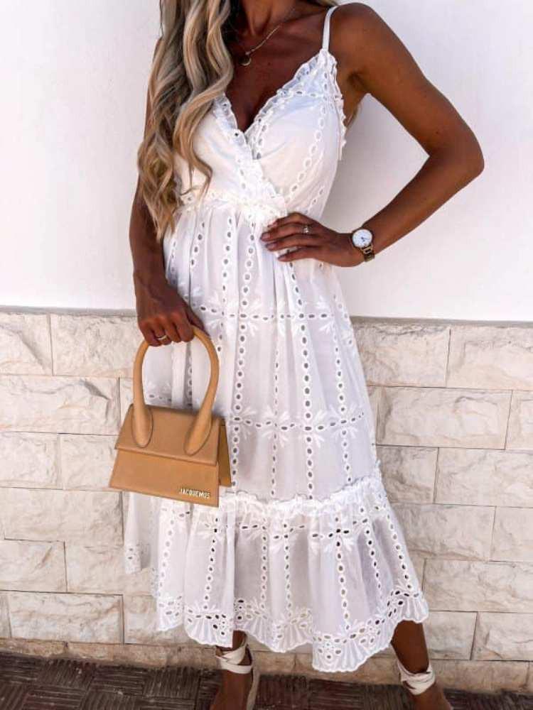 KIELY WHITE DRESS