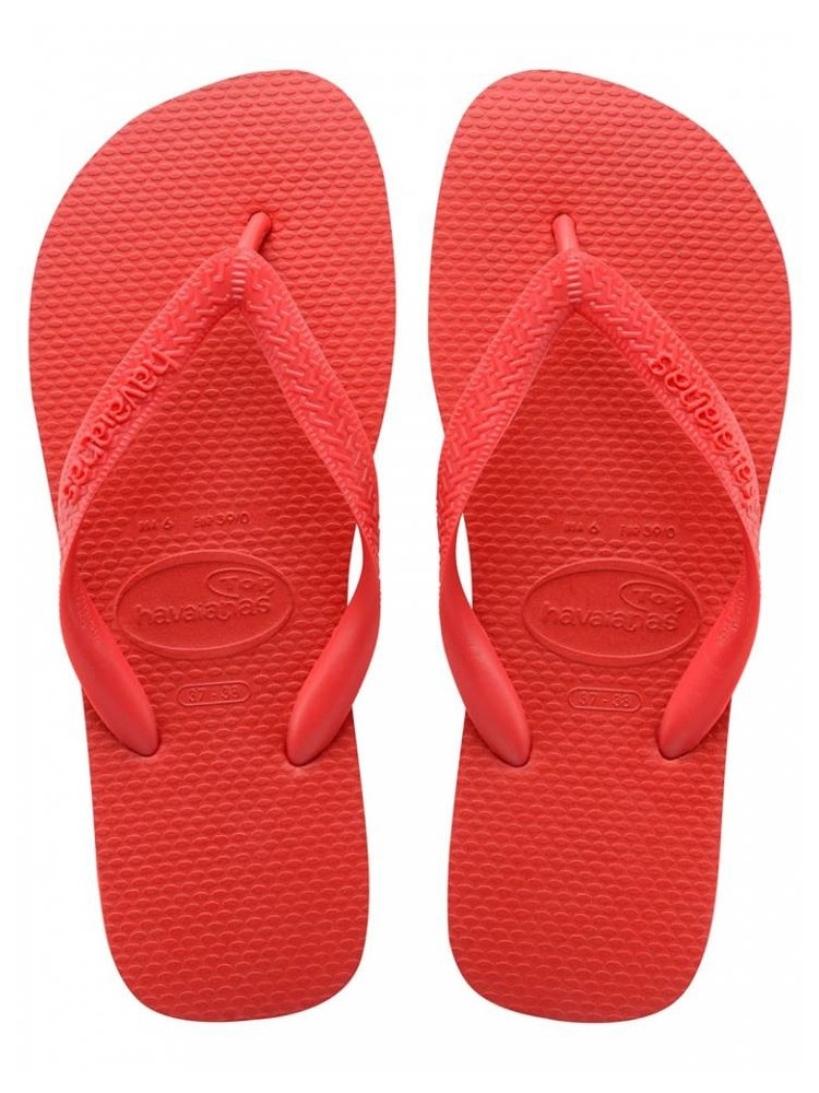 HAVAIANAS SANDALS TOP RUBY RED