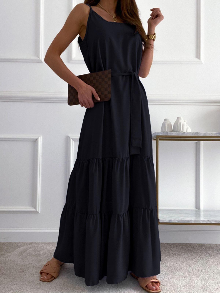 SUNNY BLACK MAXI DRESS