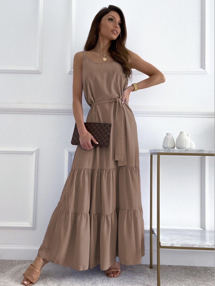 SUNNY BEIGE MAXI DRESS
