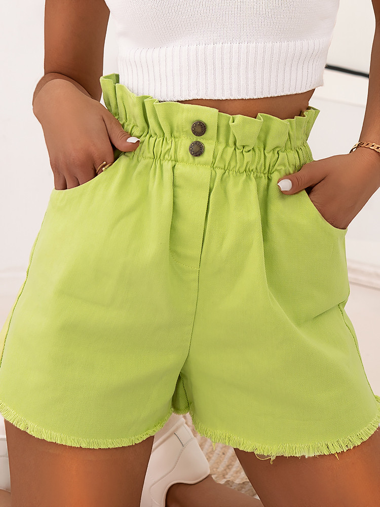 DOMINIC LIME SHORTS