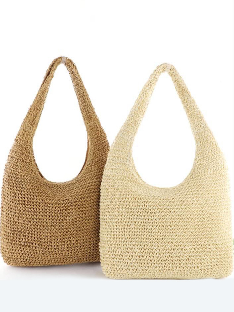 COURTIER STRAW BAG