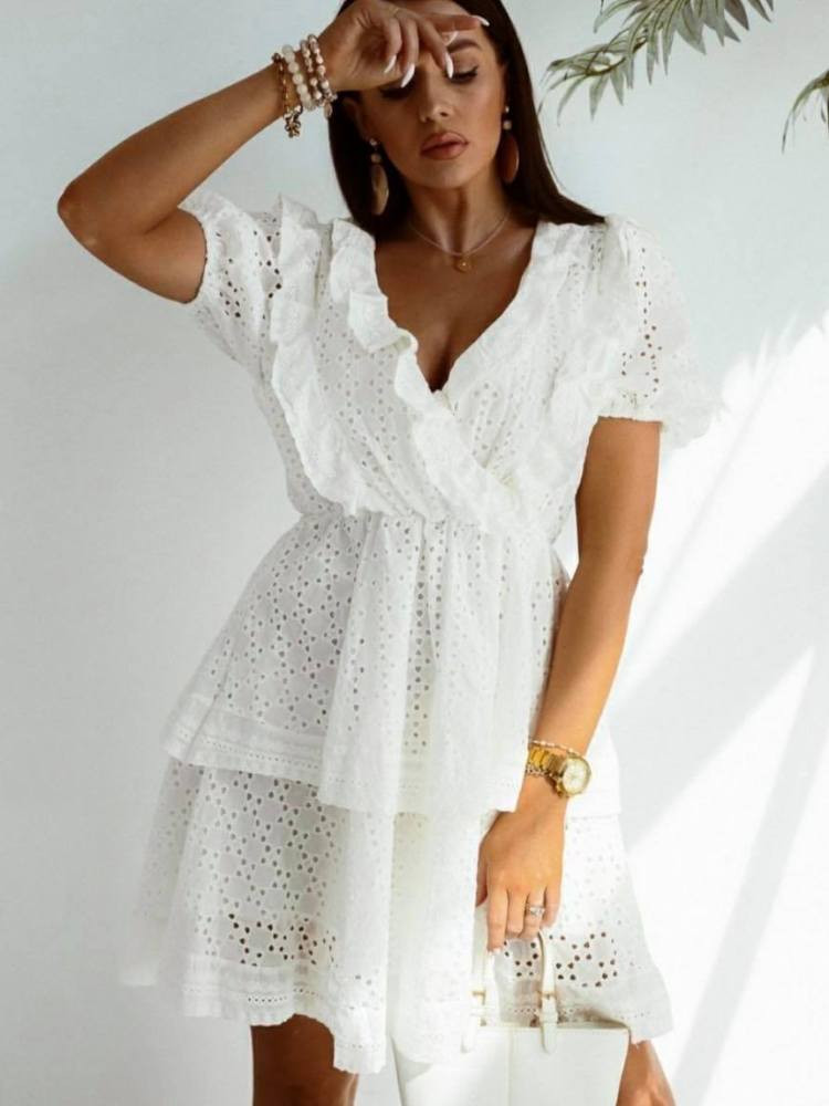 AMELIA WHITE DRESS