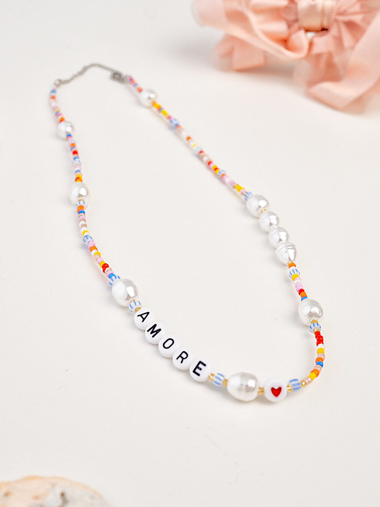 AMORE BEADS NECKLACE