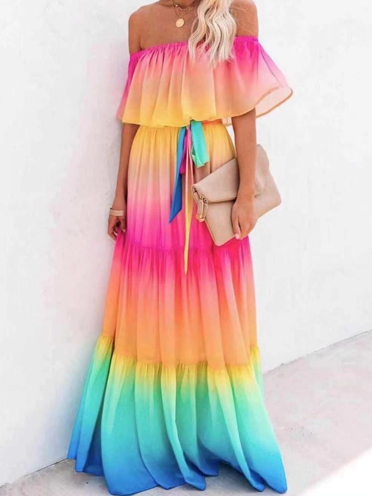 DUSH RAINBOW DRESS