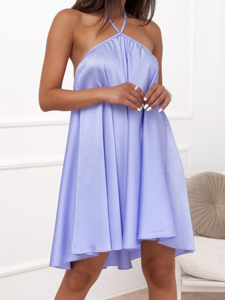 BRYCE LILA SATIN DRESS