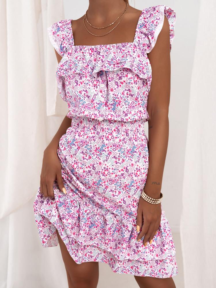 SYLVIE FLORAL DRESS