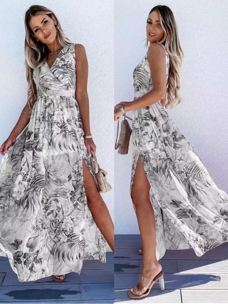 CORNELL LEAVES DRESS
