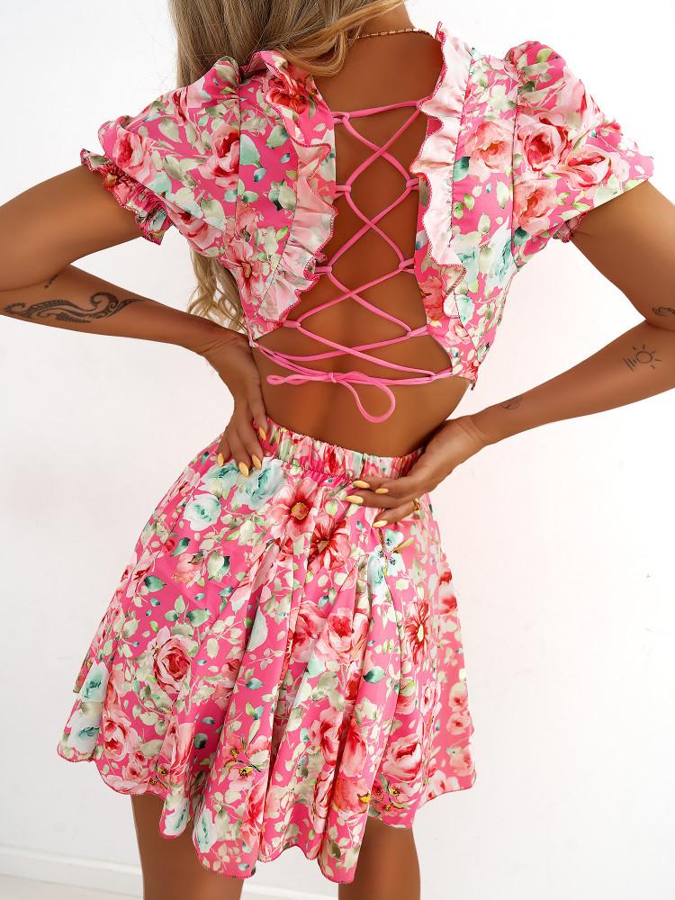 DIZZIA FLORAL DRESS
