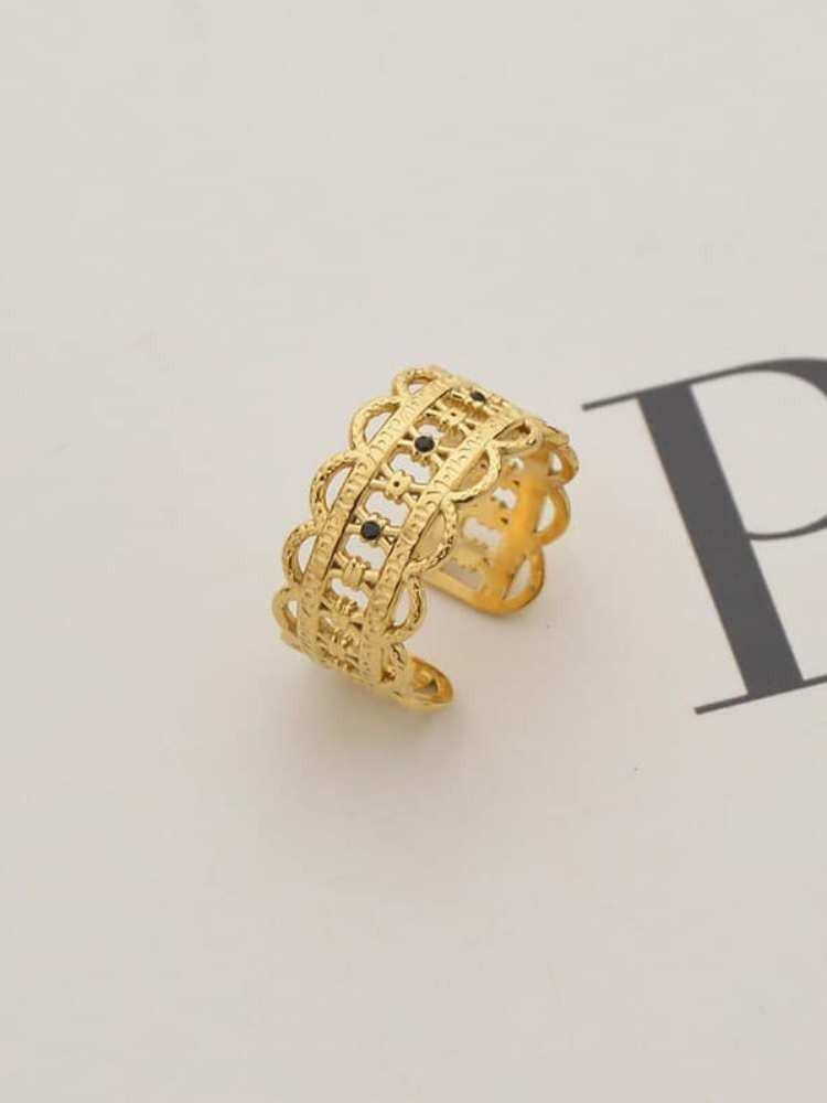 SEPTEMBER GOLD RING