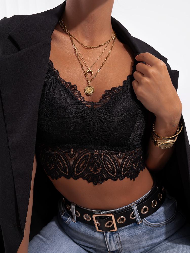 NARNIA BLACK BRALETTE