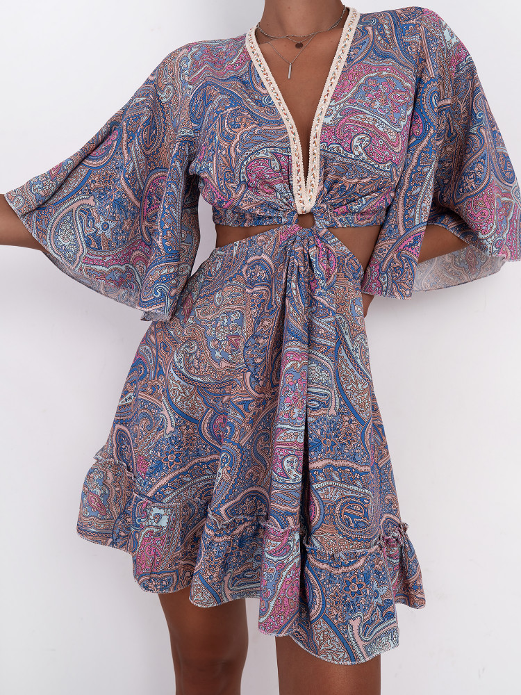 ISMA LILA DRESS