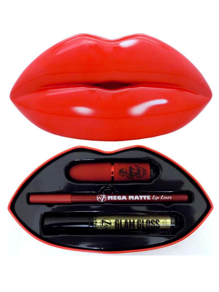 W7 COSMETICS KISS KIT - RED...