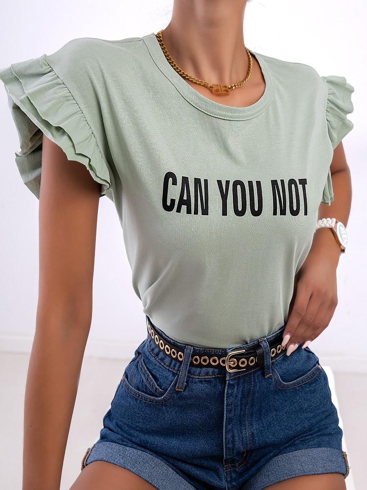 CAN YOU NOT MINT SHIRT
