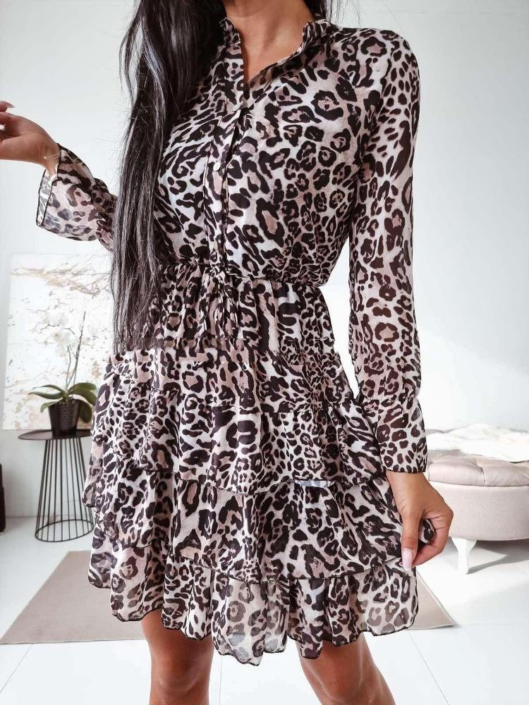 DROMEA LEOPARD DRESS
