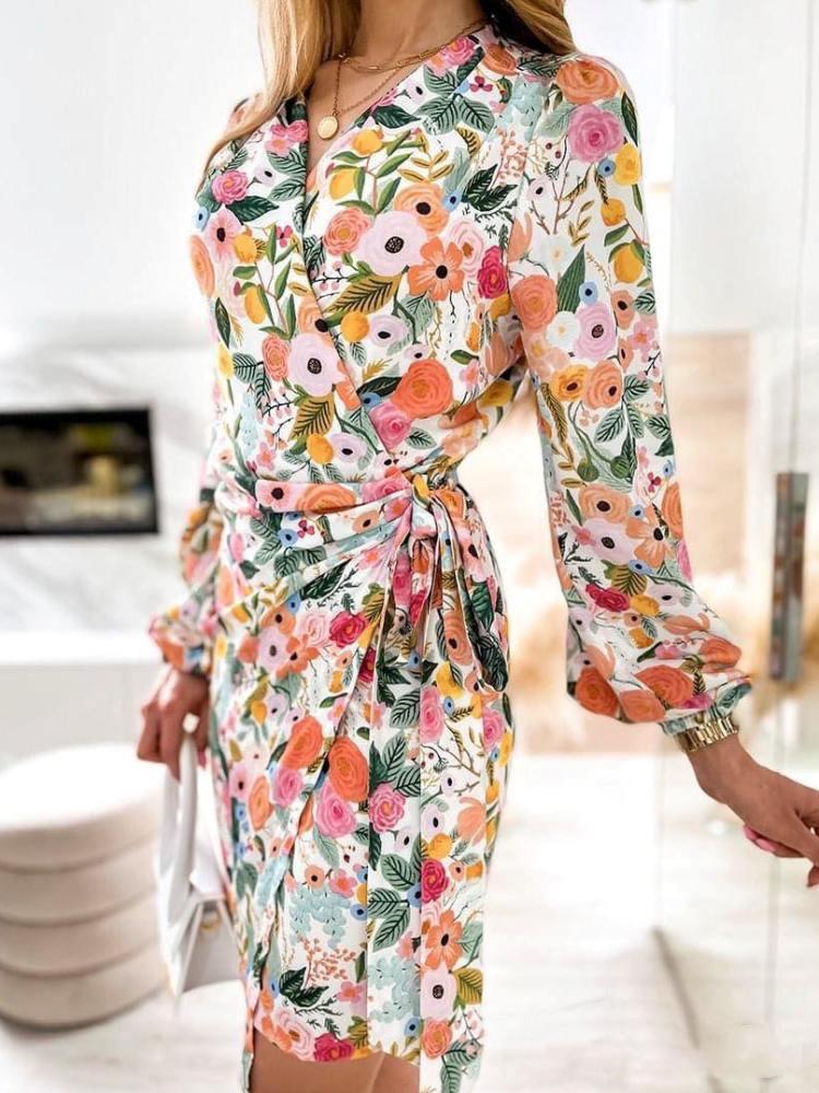 SEBASTIANA FLOWER DRESS