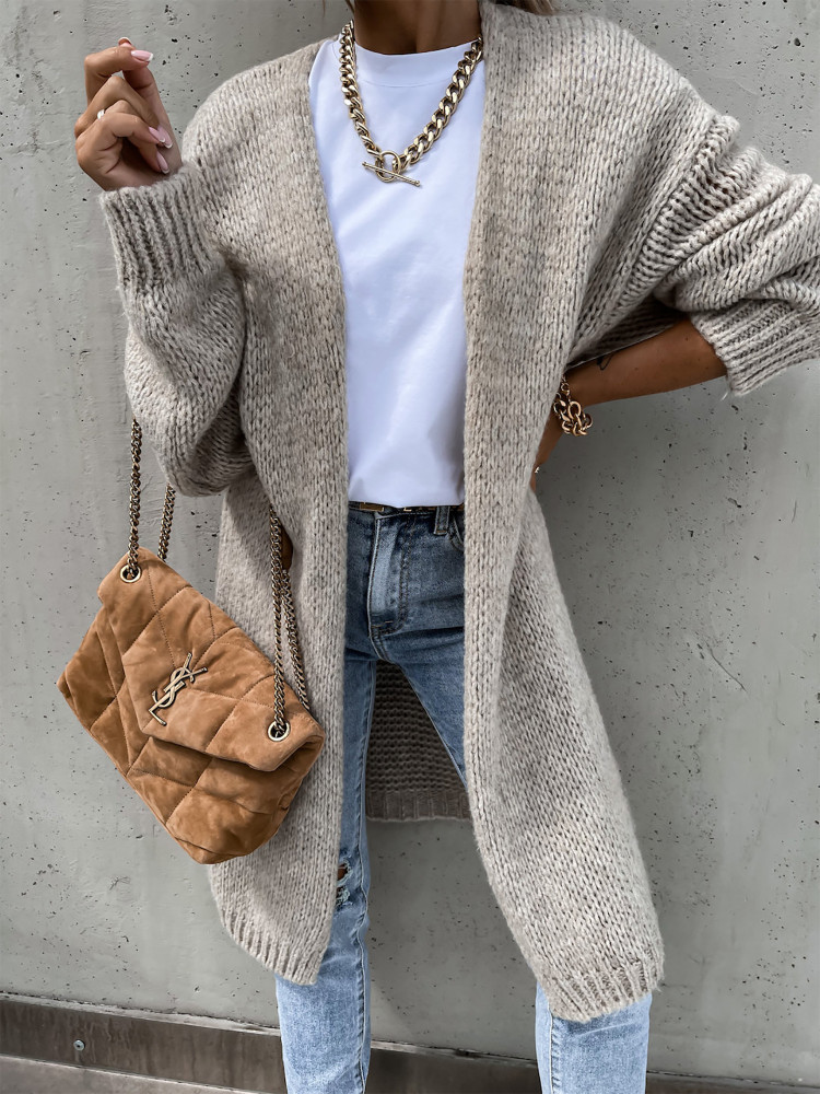 SERZY CAPPUCCINO KNITTED...