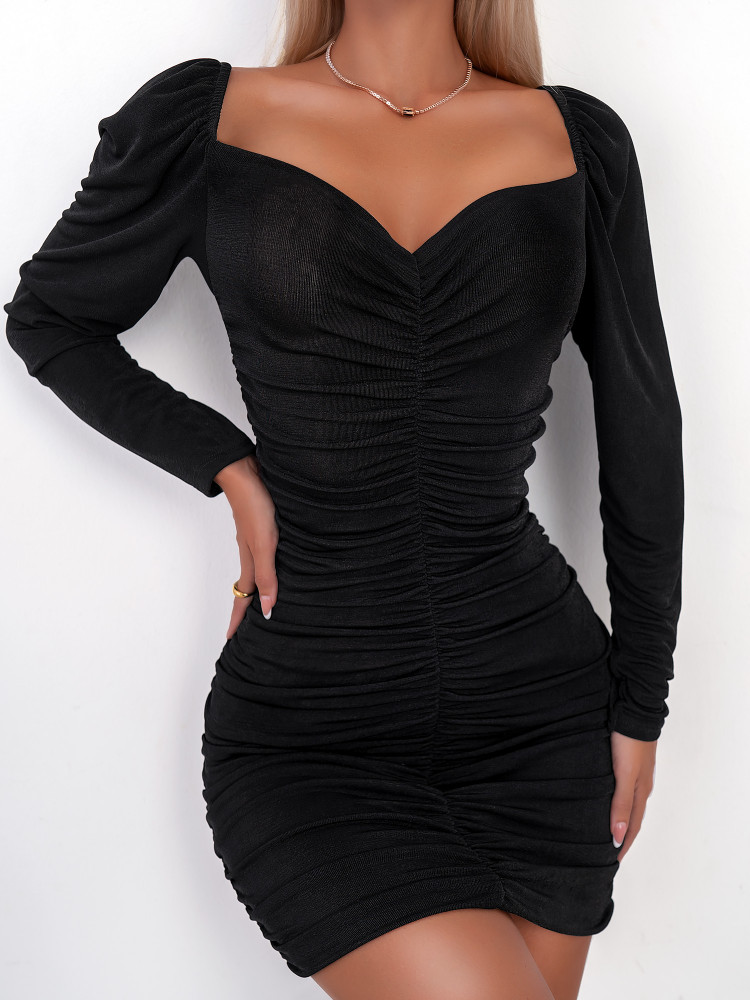 BRESCIA BLACK DRESS