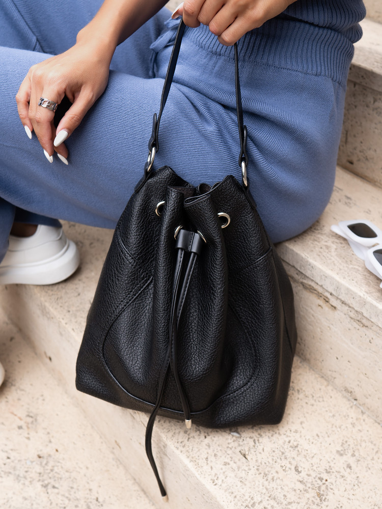 ALINA BLACK POUCH 2 in 1