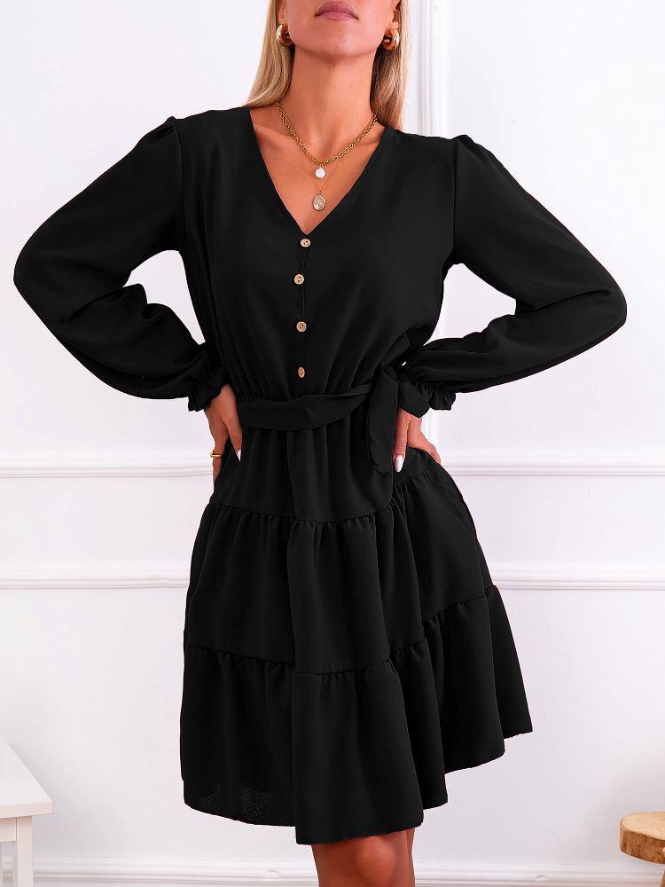GISELLA BLACK DRESS