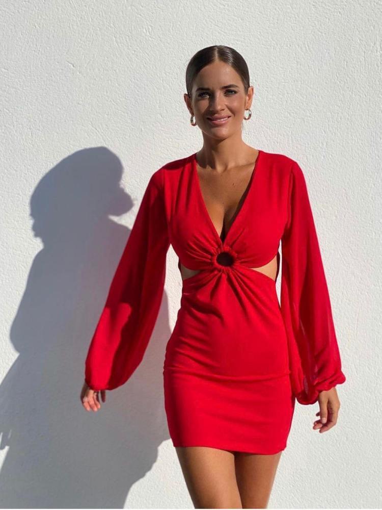 DOCKER RED DRESS