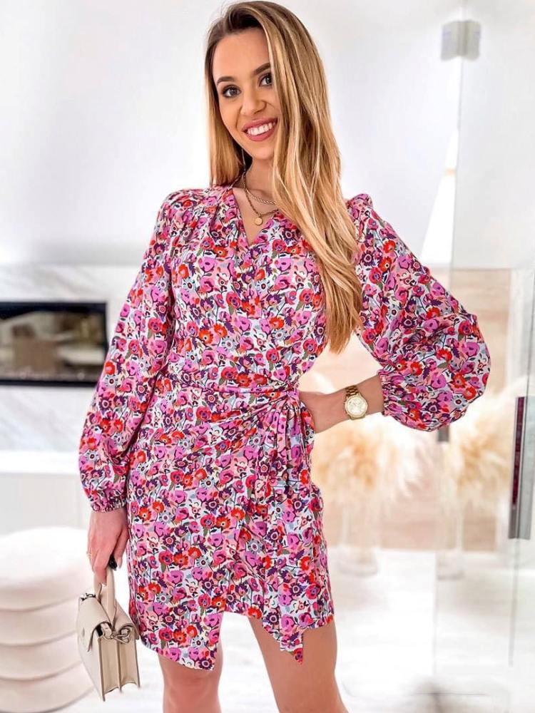 ASHER FLORAL DRESS