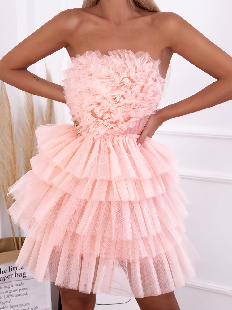 SUSIE PINK TULLE DRESS