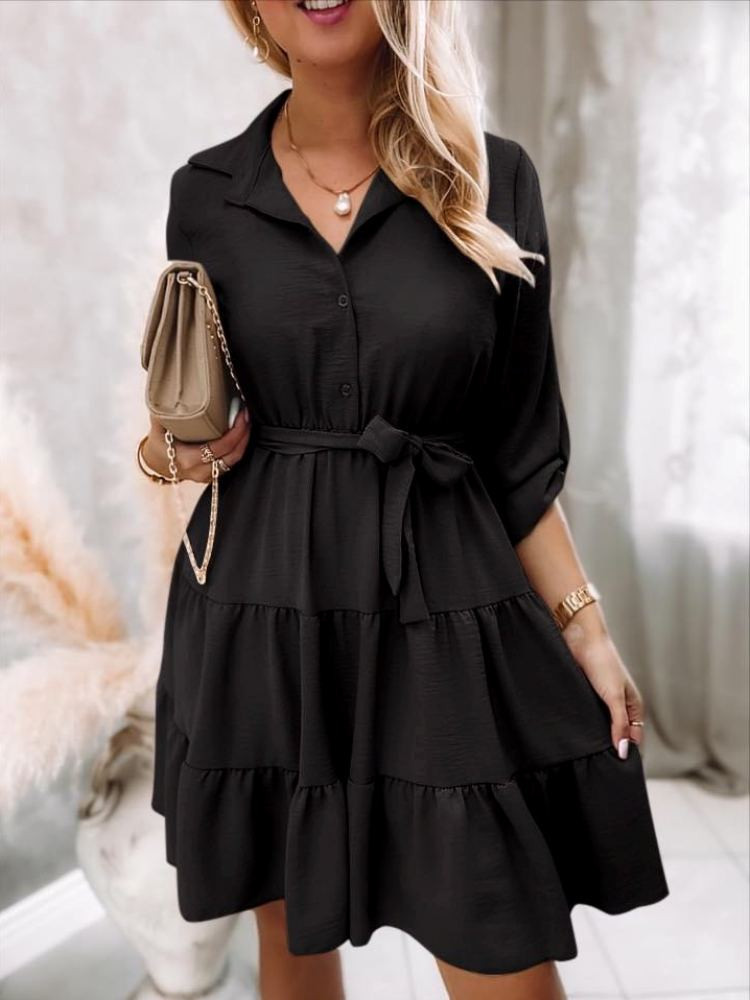 ADRIA BLACK DRESS