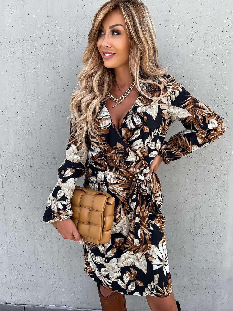 VENUS BROWN DRESS