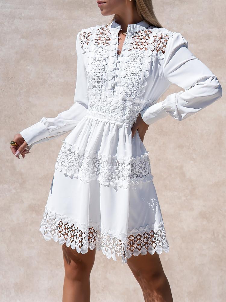 CARPATICA WHITE DRESS