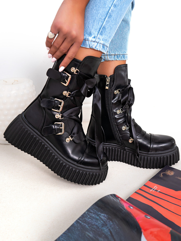 ABBEY BLACK BOOTS