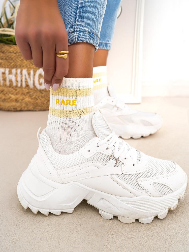 RARE BASKET SOCKS