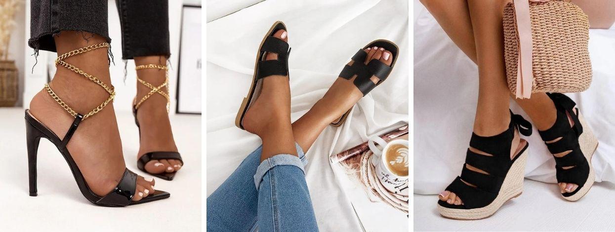 Black shoes! Για εσάς που προτιμάτε το διαχρονικό στυλ!